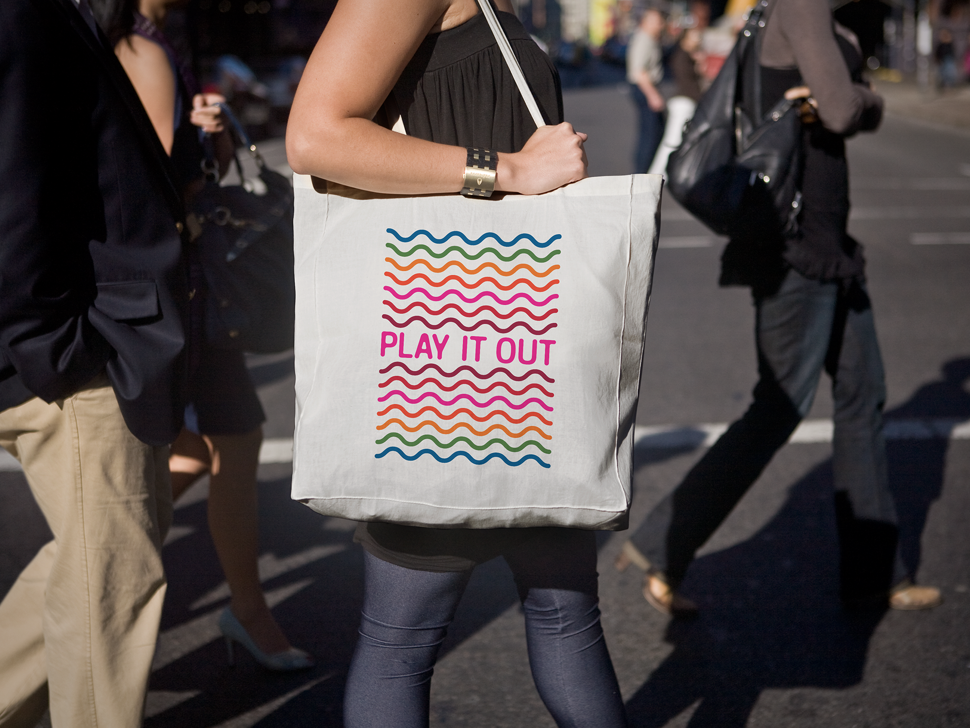 Tote bag for Play It Out brand