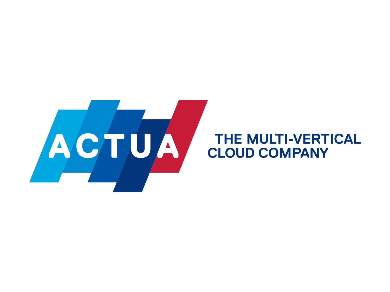 Actua logo and tagline