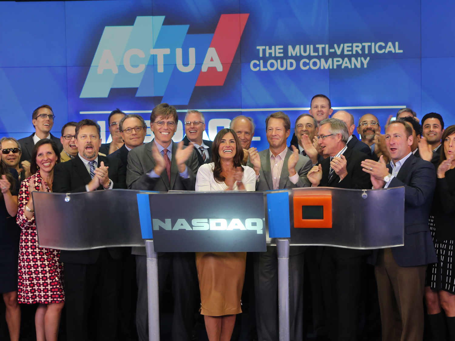 Image of Actua listing at NYSE