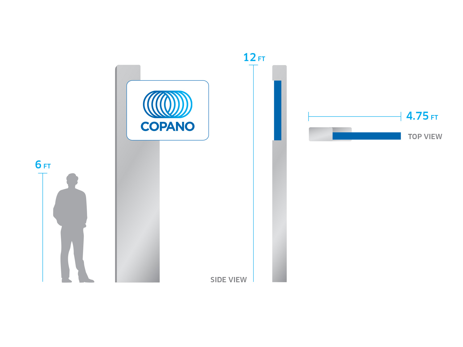 Image of Copano signage guidelines