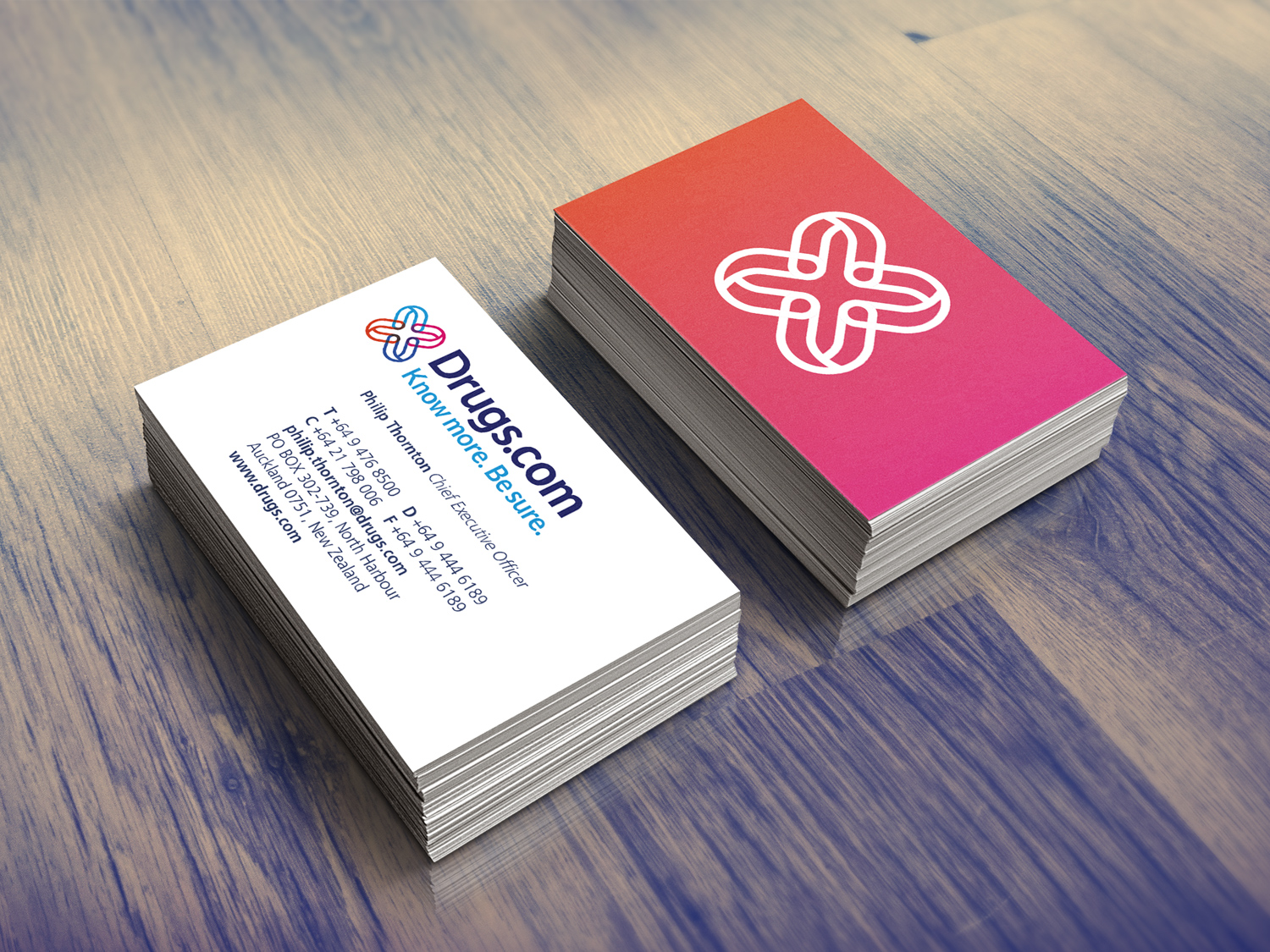 Image of Drugs.com business cards