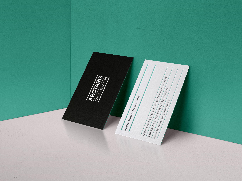 Image of Arctaris business cards