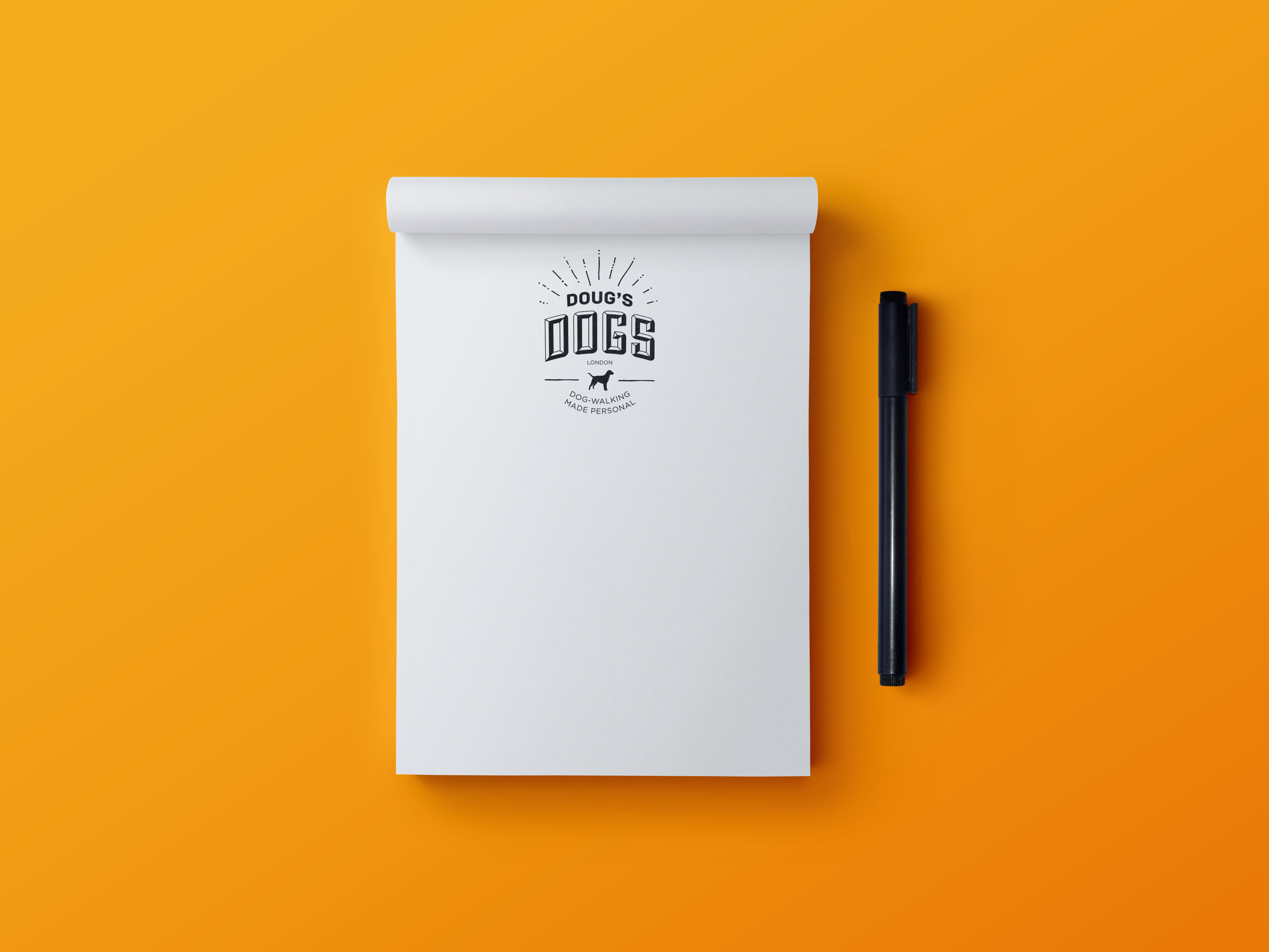 Image of Doug's Dogs notepad
