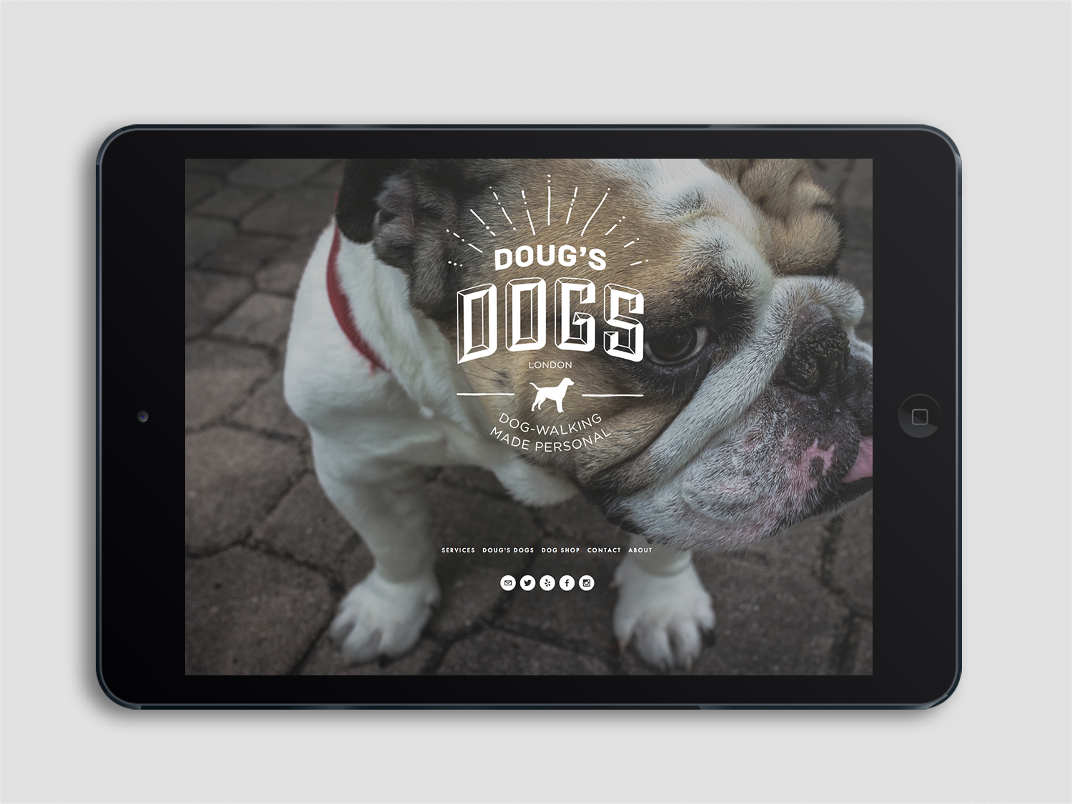Image of Doug's Dogs website