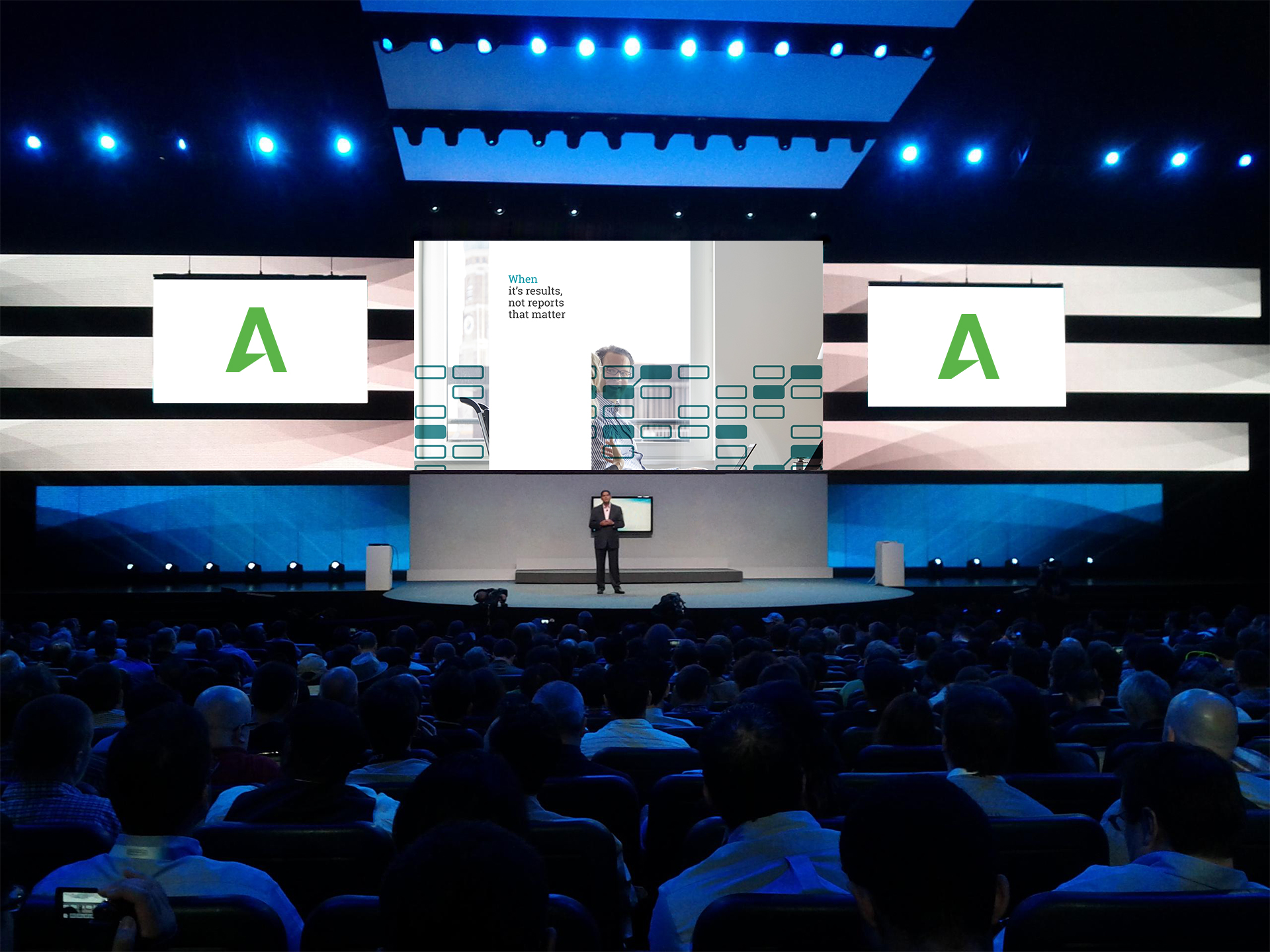 Image of AlixPartners conference branding