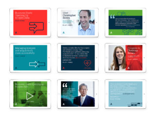 Images of AlixPartners social media cards