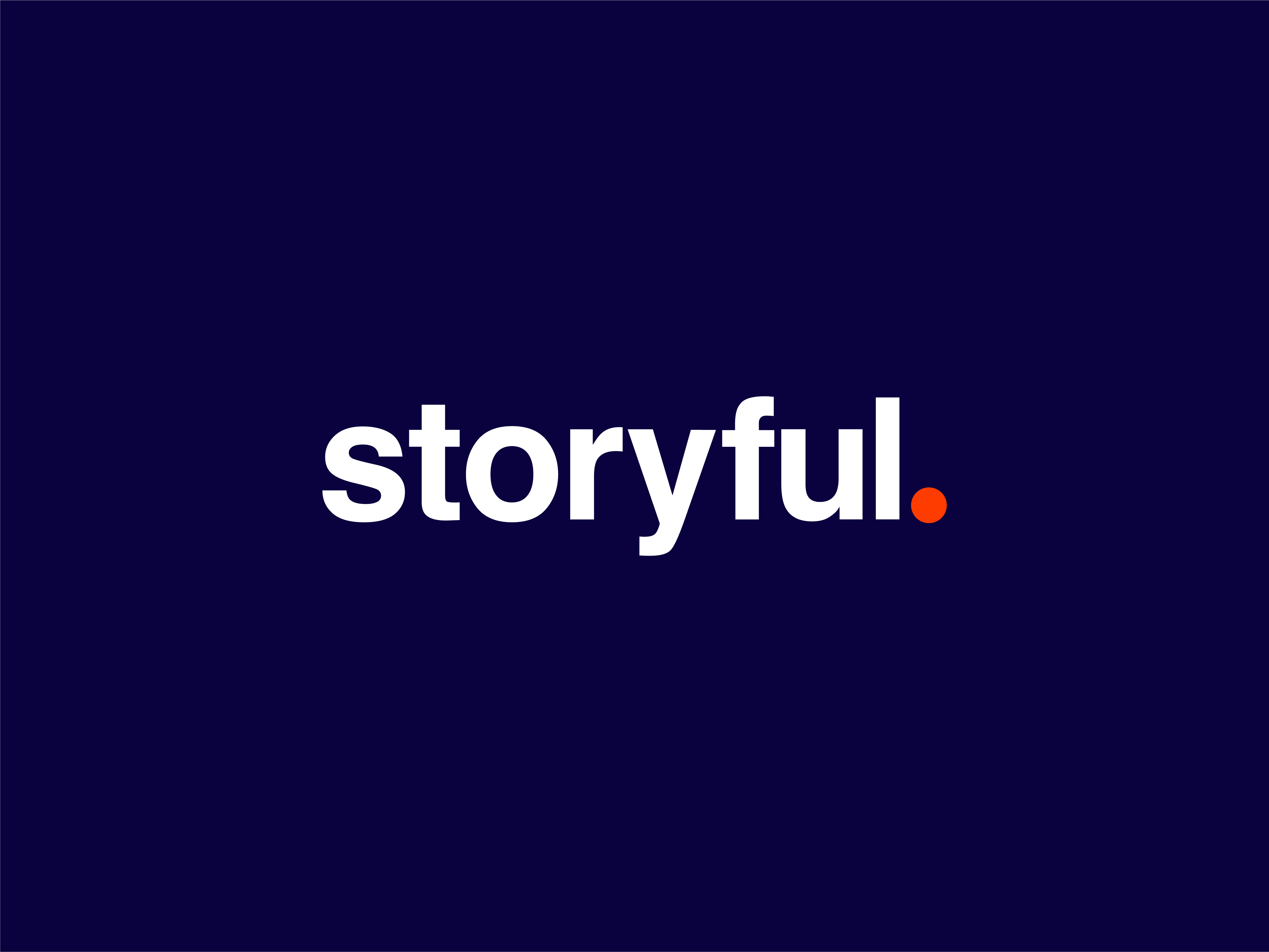 Logo for Storyful with updated colors