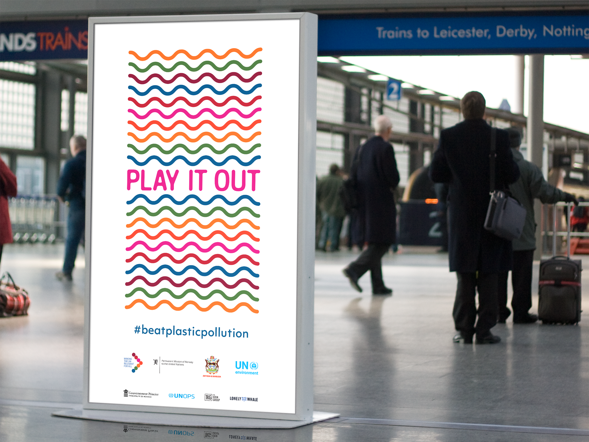 Airport poster for Play It Out