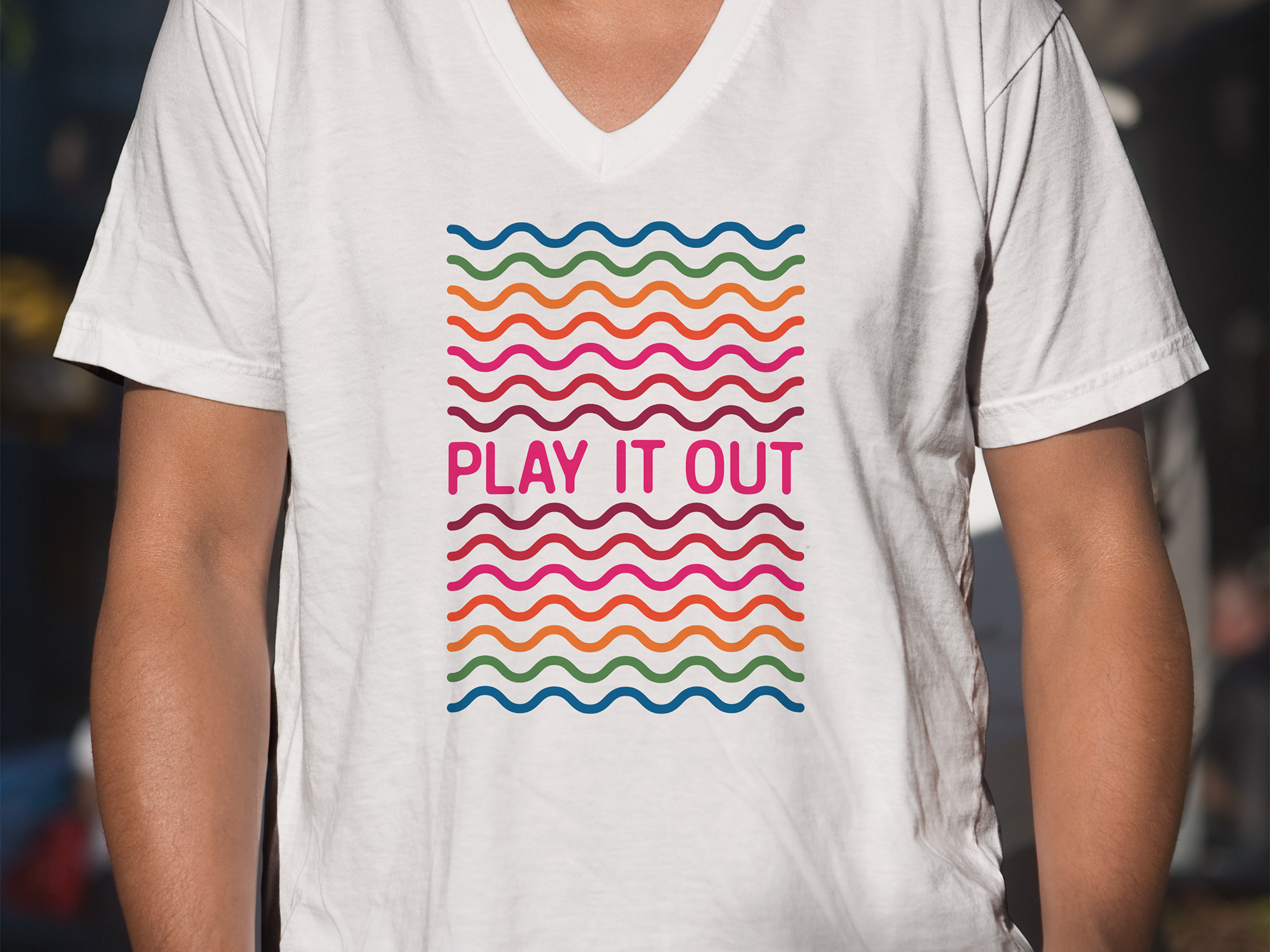 T shirt for Play It Out